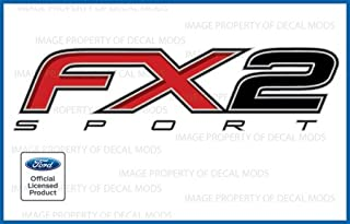 Decal Mods FX2 Sport Decals Truck Stickers for Ford F150 - F (2012-2014)