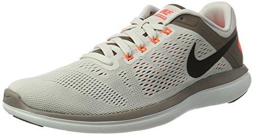 Nike Flex 2016 RN, Zapatillas de Running Hombre, Beige (Beige/Light Bone/Black/Dark Mushroom), 40.5 EU