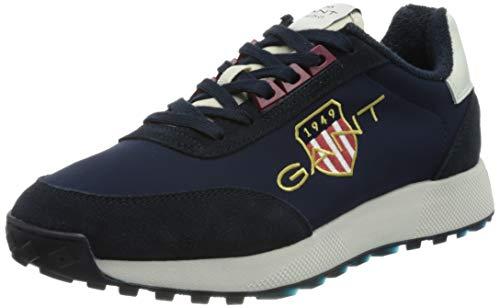 GANT Garold Sneaker, Zapatillas Hombre, Marine, 45 EU
