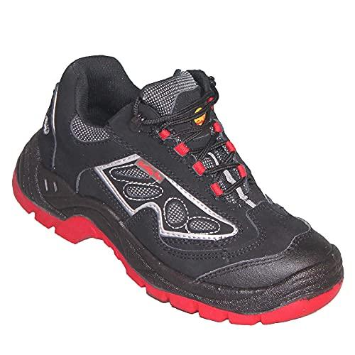 L+D Oblia Black S1P - Zapatos de seguridad, color negro