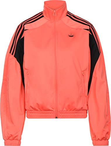 Adidas Bluza damska Track Top, półbłyszcząca czerwona, 44