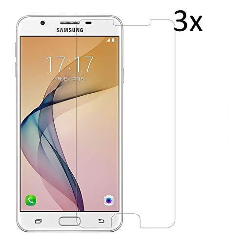 Cardana | 3X bruchsicheres Panzerglas für Samsung Galaxy J5 (2015, 2016) | Schutzfolie aus 9H Echt Glas