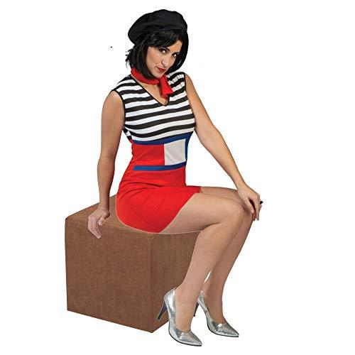 Pierro´s Kostüm Französin Francine Damenkostüm Größe 36-38