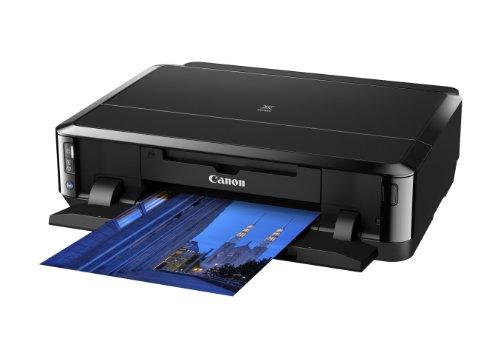 Canon PIXMA iP7250 Drucker Farbtintenstrahl DIN A4 (Fotodrucker, WLAN, USB, 9.600 x 2.400 dpi, Duplex Druck, Print), schwarz