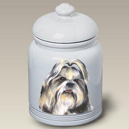 Best of Breed Shih Tzu Black - Barbara Van Vliet Ceramic Treat Jars