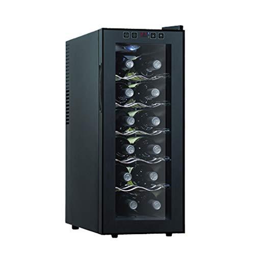 Rotwein-Thermostat Weinkühlschrank Eingebauter Thermostat Mini-Weinkühlschrank für den Haushalt Kleine Eisbar Gefrierschrank Weinkühler Lebensmittelkonservierung