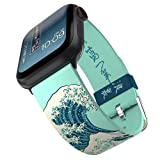Hokusai - The Great Wave Smartwatch Band - Inspired by the Artist, Compatible with Apple Watch (not Included) - Fits 38mm, 40mm, 42mm and 44mm