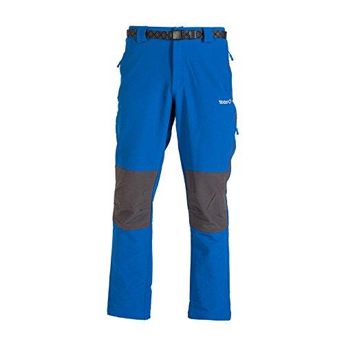 IZAS Chamonix Pantalon de Montagne Homme, Royal/Gris Foncé, FR : 3XL (Taille Fabricant : XXXL)