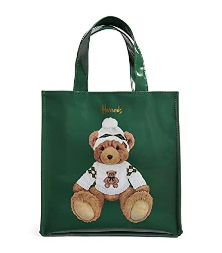 harrods 16761755 - Small Christmas Bear 2021 Tote Bag