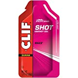 Clif Shot - Energy Gels - Razz - (1.2 Ounce Packet, 24 Count)