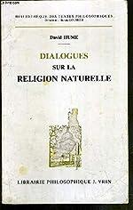 Dialogues sur la religion naturelle de David Hume