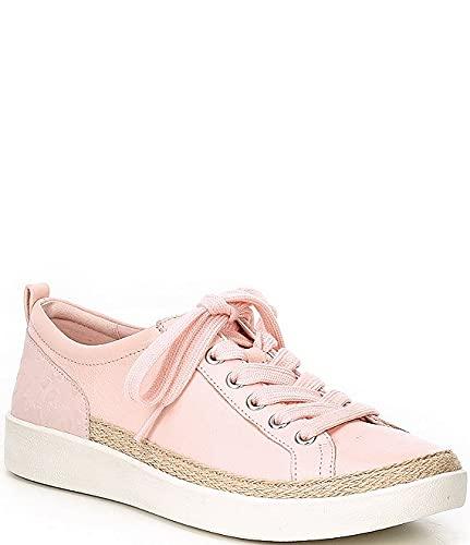[バイオニック] シューズ 24.5 cm スニーカー Winny Embossed Leather Lace-Up Sneakers Pale Blush レディース [並行輸入品]