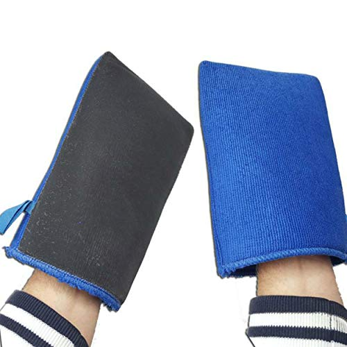 KDS 2X Ultimate Waschhandschuh Mikrofaser Handschuh mit Reinigungsknete Neu