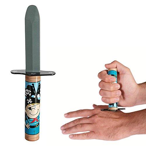 Retractable magic knife, pirate disguise - sword saber dagger