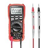 Multimètre Numérique Automatique Portable, Multimetre Digital ET680 Testeur de Tension AC/DC,...