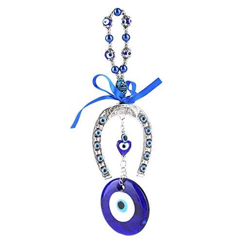 Tomantery Pendentif amulette turque mauvais œil bleu turc – Décoration de voiture