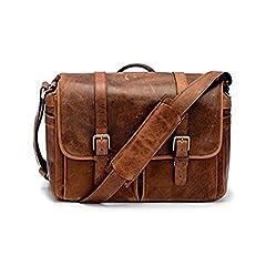 Brixton Camera / Laptop Messenger Bag