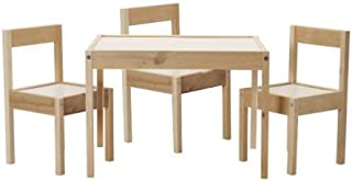 2 x Ikea Childrens Table and 3 Chairs
