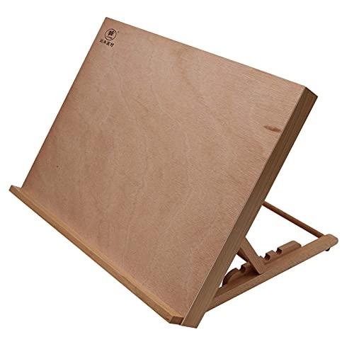 Paintersisters-Neuss Planche à dessin + Poste de travail Format A3 Bois de hêtre FSC - Pour peindre