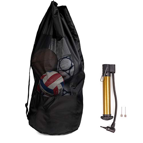 BRAMBLE! Bolsa Extra Grande de Malla para Fútbol con Bomba, 110cm - Impermeable ✅