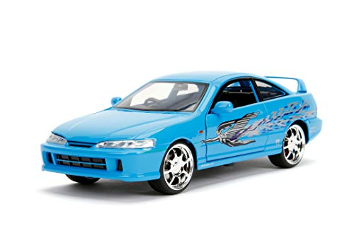Fast & Furious 1:24 Mia's Acura Integra Type-R Die-cast Car, Toys for Kids and Adults