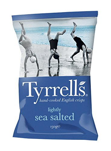 Eurofood Chips Lightly Salted (Leggermente Salate) - 150 gr