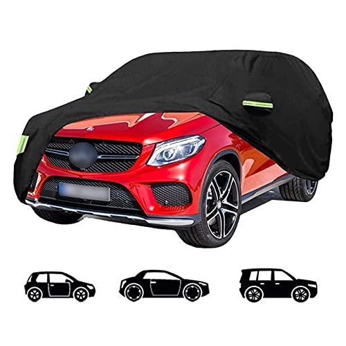 DUWEN-Car Cover Cubierta automática Compatible con Peugeot, 2008 3008 5008 RCZ 500 206 207 508 407 Prueba De Viento Automóviles Cubiertas Todas Protección Intemperie Funda Impermeable Lluvia