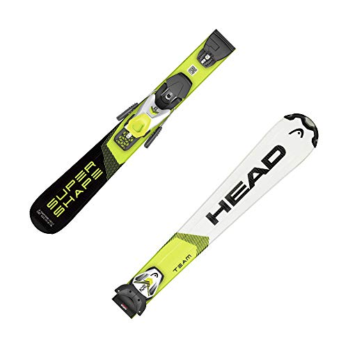 HEAD Kinder Skier Supershape Team SLR Pro + Bindung LRX 7,5 GW Weiss/schwarz (909) 137