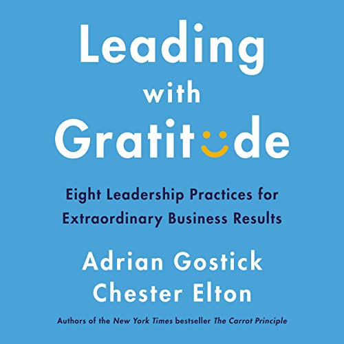 Leading with Gratitude audiobook cover art