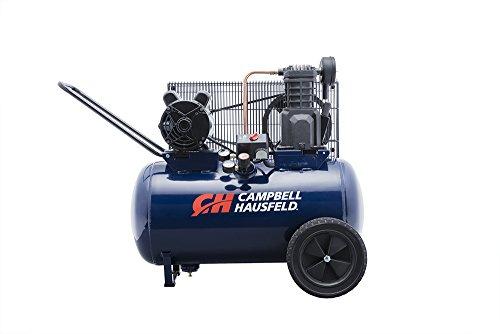 Campbell Hausfeld Air Compressor, 20-Gallon Horizontal Portable Single-Stage 5.5CFM 2HP 120/240V 1PH (VT6290)