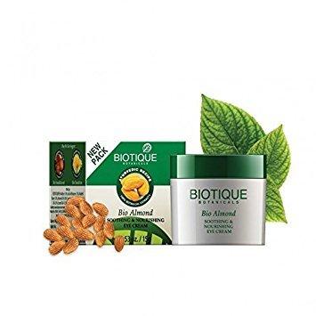 Biotique Almond Under Eye Cream For Dark Circles & Puffiness 15 g