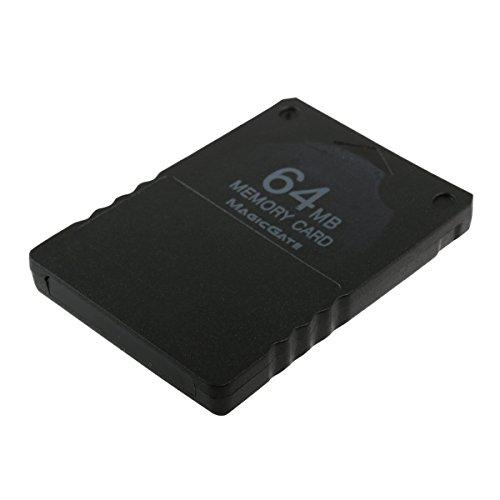 LEORX 64MB Memory Card per PS2 PlayStation 2 sistema - reale ad alte prestazioni