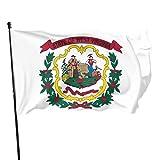 Paoseven Virginia State Flag Decorative Garden Flags, Outdoor Artificial Flag For Home, Garden Yard Decorations 3x5 Ft