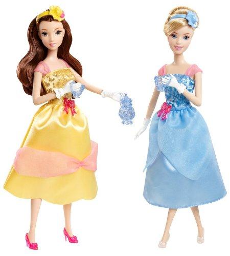 Mattel X9352 - Princess 2-Pack Belle