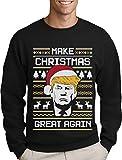 Green Turtle T-Shirts Make Christmas Great Again Trump Herren Ugly Christmas Sweater...