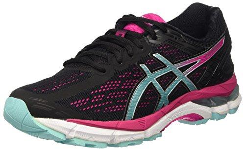 Asics Gel-Pursue 3, Zapatillas de Entrenamiento para Mujer, Multicolor (Black/Aruba Blue/Sport Pink),...