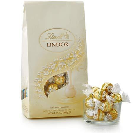 White Chocolate LINDOR Truffles 75-pc Bag