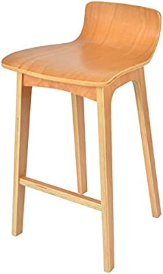 La Chaise Longue Tabouret DE Bar Scandi, Bois, 39x43x65,5 cm