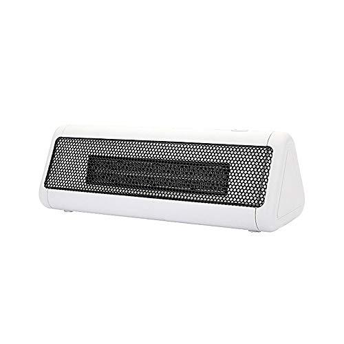BDwantan Heizung Mini Desktop Studenten Schlafsaal Desk Top Wärmer Handwärmer Elektror Lüfter Energieeinsparung Leiser Heizung (weiß, rot) (Color : White)