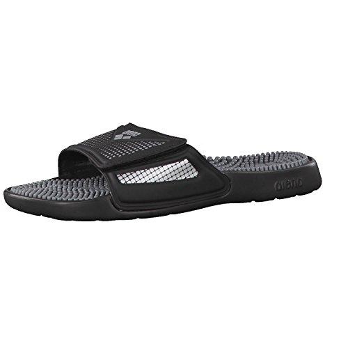 ARENA Marco VCR Hook Sandals Black-Grey-Silver Schuhgröße EU 46 2019 Badeschuhe