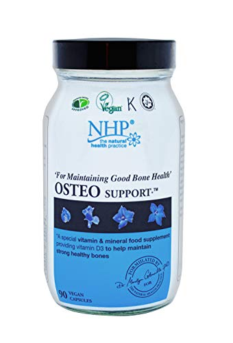 Natural Health Practice Osteo Support Supplement Vitamin D3 (90 Capsules) Maintain Strong Healthy Bones