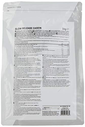 Myprotein Micellar Casein Chocolate, 1er Pack (1 x 1 kg) - 3
