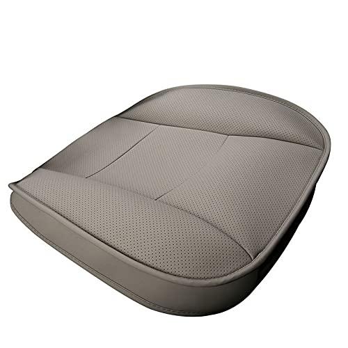 Gang za Asiento de seguridad para el asiento de un solo asiento sin respaldo de la cubierta del asiento del automóvil para la mayoría de los sedán y suV de cuatro puertas ( Color Name : 1pcs Gray )