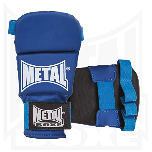 METAL BOXE mb488Guanti Unisex, Unisex, MB488, Blu, Taille S