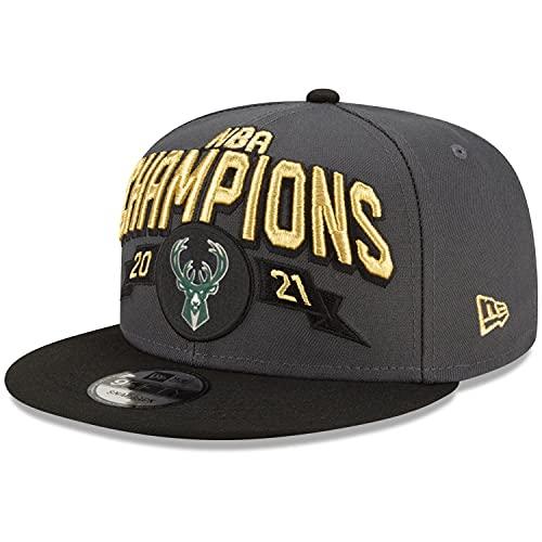 New Era Cappellino con visiera, Milwaukee Bucks 2021 NBA Champions