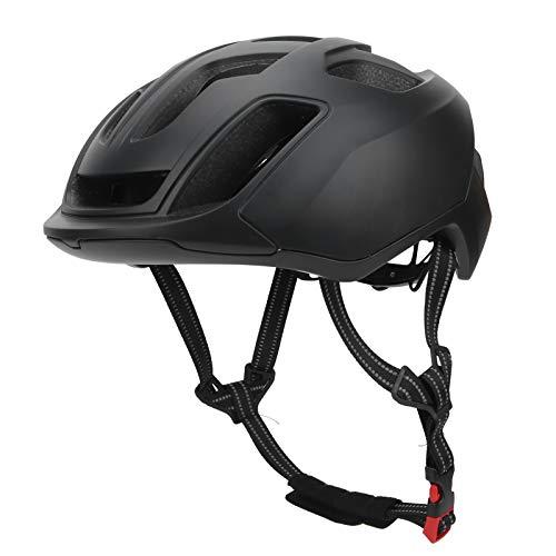 Estink Cycling Helmet, with Back LED PC+EPS 623g/22oz 17pcs Hole, USB Charging Safety Riding Helmets(black)