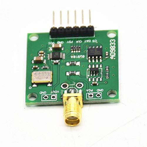 1 UNID Nueva Llegada AD9833 Módulo Generador de Señal DDS 0-12.5MHz Cuadrado/Triángulo/Sinusoidal 2.3V-5.5V Kaemma(Color:Green)