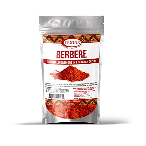 Tsiona Foods Berbere Powder Spice Blend, 3oz