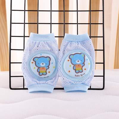 JKCKHA Pads lindo rodilla unicornio for rodilleras bebé calentadores de la pierna de los niños de Seguridad de arrastre del codo Cojín infantil Bebé Calientapiés activos calcetines del calentamiento d