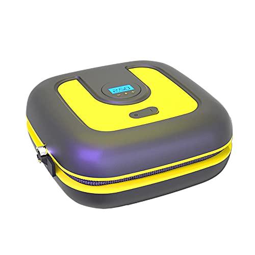 LVYE1 MRMF Mini Portátil Inflador De Bomba Inflable De Neumáticos Inalámbrico Bomba De Aire Eléctrica para Coche Bomba De Compresor De Aire para La Bola De La Bici De La Motocicleta del Coche,Digital